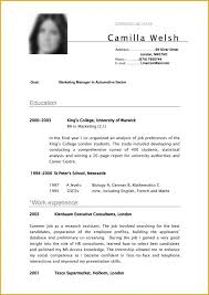 Best Resume Format For Recent College Graduates Best Resume Templates For College Graduates Resume