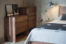 Walnut Bedroom Furniture Walnut Black Lotus Natural Bed Company - Black and walnut bedroom furniture