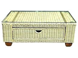 round wicker end table white wicker coffee table wicker coffee table round palm beach coffee table