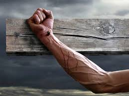 Image result for jesus nailed to a cross