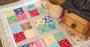 Coffee Time Quilt For Your Next Table Mat – Quilting Cubby & Coffee Time Quilt For Your Next Table Mat Adamdwight.com
