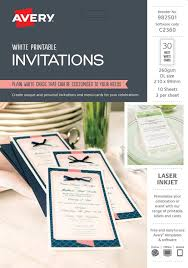 Invitations 982501 Avery Australia