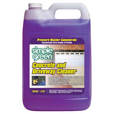 concrete and driveway cleaner pressure washer concentrate