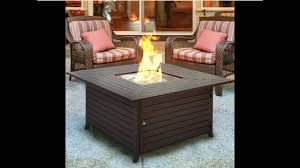 best choice s bcp extruded aluminum gas outdoor fire pit table with cover