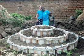 Kitchen Garden Hens African Kitchen Garden Rwanda Sustainable Families