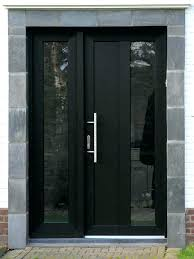 marvelous contemporary entry doors with glass modern exterior front doors with glass black front door with