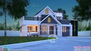 Kerala Home Design One Floor Plan 1722 Square Feet Awesome Kerala One Floor Home Kerala Home