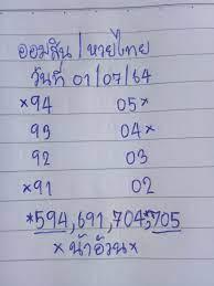 หวยรัฐบาลไทยวันสุดท้ายชุดพิเศษพี่น้อง งวดวันที่1กรกฎาคม 2564 –  news158media.com