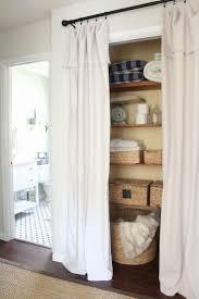 finest diy no sew shower curtain about dafdaede curtains closet doors
