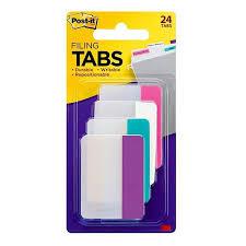 3m Post It Flip Chart 3m Post It Note Taking Tabs Flip Chart 50 8mm X 38 1mm Durable Filing Tabs 24 Tabs Per Pack