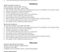 Resume Template Examples Free resume Resume Examples Sample Resume For Banking Job Good Sample 61