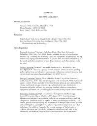 Ideas Of Post College Admission Essay Veterinary Technician Resume