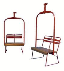 Ski Chairlift VintageWinter