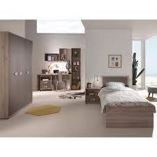 vipack emma single bed nightstand 3 door wardrobe desk and underneath