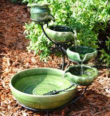 Best Garden Water Features Images On Pinterest Solar Water