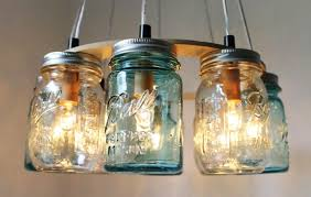 how to make a light from a mason jar