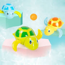 Pre-Order Little Turtle Baby Bath Tub Water Playing Kids Toys ...
