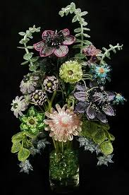 French <b>Beaded</b> Flowers by Boa's Botanicals