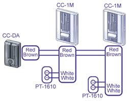 intercom doorbell wiring diagram intercom image aiphone ccs 1a chime intercom business phones and accessories on intercom doorbell wiring diagram