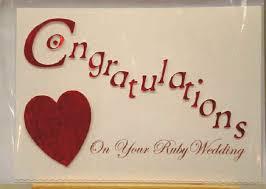10 wonderful congratulations on wedding wishes images Wedding Greeting Card Quotes congratulations on your ruby wedding greeting card parents wedding greeting card quotes