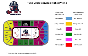 Bok Center Tulsa Oilers Seating Chart Activities In Tulsa Tulsa Oilers Single Game Tickets