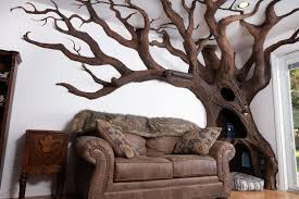 robert rogalski builds cat tree inspired by tolkien s ents
