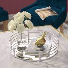 Add light and sparkle to your home with a stunning silver tray! Large Silver Decorative Trays You Ll Love In 2021 Wayfair
