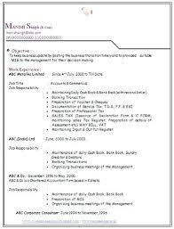 Free Resume Format For Freshers Fresher Accountant Resume Sample ...