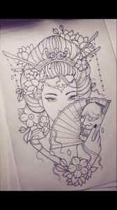пин от пользователя ольга на доске татуировки татуировки гейша