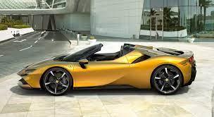 Ferrari Sf90 Spider Open Air Hybrid Auto Design