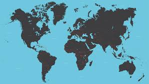 Vector World Map With All Countries Maproom