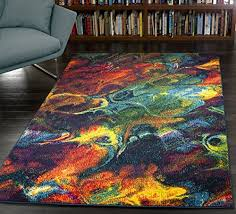 a2z rug modern colourful contemporary design area rugs rio collection 5675 multi 120x170 cm