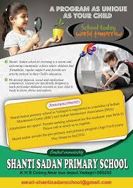 School Flyer Templates Free School Free Brochure Flyer