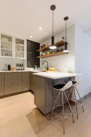 modern kitchen cabinet colors. Strategically Incorperate A Mix Of Cabinets With Glass Doors And Open Shelving To Create Modern Kitchen Alcove. Cabinet Colors