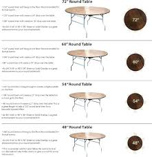 6 foot round table what size tablecloth for 5 foot round table best here it is