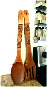 fork knife and spoon wall decor spoon and fork wall hanging large spoon and fork wall