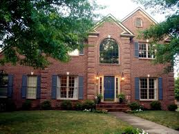exterior colonial house design. Brick Colors Houses Red Homes Pictures House Ideas Landscaping For Home Stone And Exterior How To Wall Patterns Designs Colonial Design