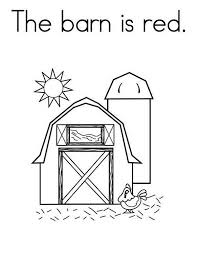 Small Picture Red Barn Coloring Pages Coloring Coloring Pages