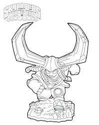 Coloring Page Giants Colouring Pages Printable Best Skylanders