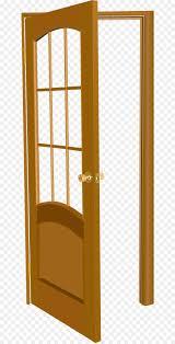 Tabelle Tür Fenster Darstellung Vektor Lackiert Der Offenen Tür
