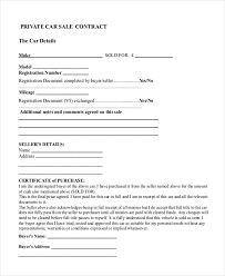 Free 8 Sample Sales Contract Forms Pdf