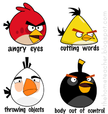 Angry Birds Behavior Chart Dont Be An Angry Bird Lessons On Anger Management For Kids