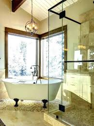 bathtub chandelier