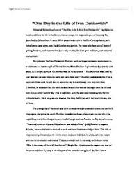 commentary on one day in the life of ivan denisovich page 1 zoom in