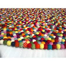 multi coloured wool rug cm round multi color felt ball rug ikea strib multi coloured striped multi coloured wool rug
