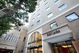 the hotel rose garden shinjuku is five minutes from nishi shinjuku station for more information call 03 3360 1533 or visit hotel rosegarden jp