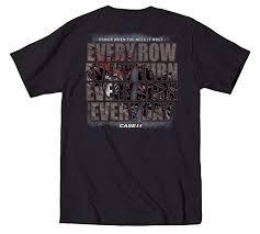 Case Ih Every Row Farming Mens T Shirt Amazon Com