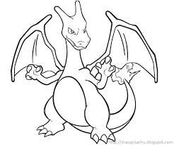 Pokemon Coloring Pages Charizard Coloring Pages Face Mask Pokemon