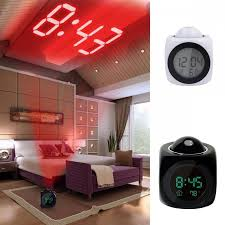 alarm clocks that project time ceiling vibrant alarm clocks that shine on the ceiling