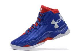 under armour shoes red and blue. under armour mens red royal blue basketball shoes curry 2.5 new and m